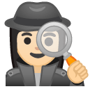 Эмодзи 🕵🏻♀️ Google