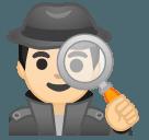 Эмодзи 🕵🏻♂️ Google