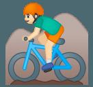 Эмодзи 🚵🏻♂️ Google