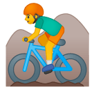 Эмодзи 🚵♂ Google