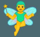 Эмодзи 🧚♂️ Google
